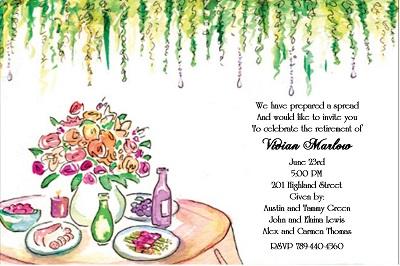 Formal Dinner Invitation is amazing invitations example