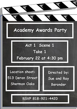 Movie Screening Party invitations NEW selections Summer 2018