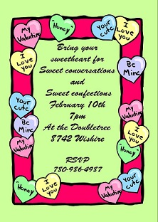 Valentines Day Party Invitations 2018