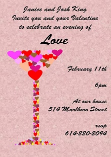 Valentine S Day Party Invitations 2019