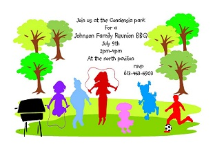 Ideas For Family Reunion Invitations is luxury invitations example