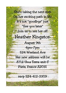 Summer party invitations for new selections 2018 summer party invitations garden path stopboris Image collections