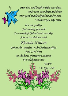 College Going Away Party Invitation Wording was best invitations ideas