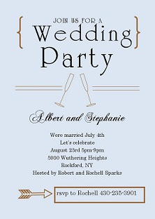 Wedding Celebration Invitations was very inspiring ideas you may choose for invitation ideas