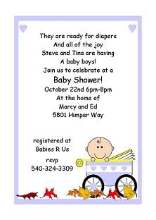 baby boy poems for shower invitations boy baby shower invitations new
