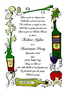 retirement party invitations custom designed new for spring, Party invitations