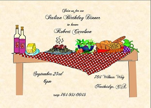 Dinner party invitations new selections fall 2018 dinner party invitations stopboris Choice Image