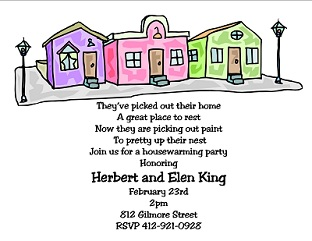 Housewarming Invitations New Selections Summer 2019