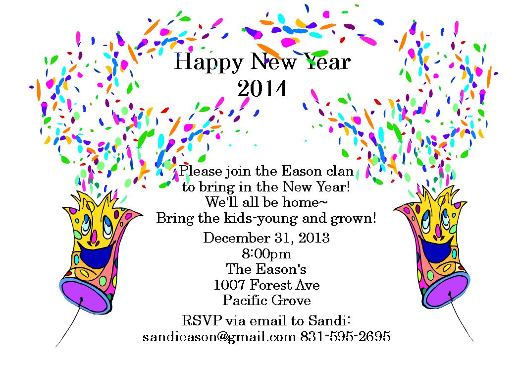 New Years Party Invitations and get inspiration to create nice invitation ideas