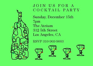 Christmas Company Company Party Invitations