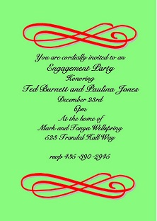 Christmas holiday engagement party invitations 2017 holiday christmas engagement party invitations stopboris Images
