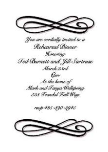 Formal Lunch Invitation Romeolandinezco - Formal dinner invitation template