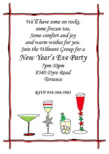 New Years Eve Party Invitations - New years eve party invitation templates free