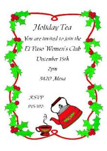 c_sar664 christmas tea party invitations 2017,Christmas Tea Party Invitations