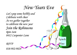 New years eve party invitations 2018 celebrate new years eve party invitations stopboris Image collections