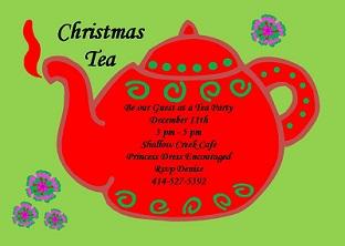 c_sar833 christmas tea party invitations 2017,Christmas Tea Party Invitations