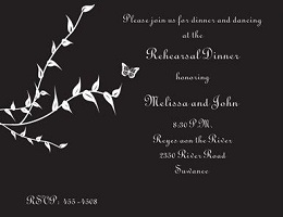 black and white party invitations new selections spring, Party invitations