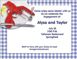 Dinner party invitations new selections summer 2018 dinner party invitations stopboris Gallery