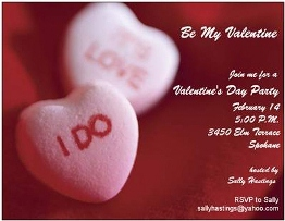 Design 160- Valentine Party Invitations