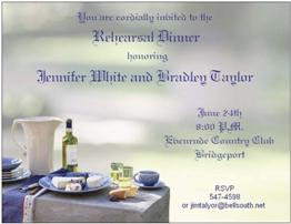 Rehearsal dinner invitations new selections summer 2018 rehearsaldinner stopboris Gallery