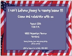 Coming home party invitations new selections summer 2018 welcome home coming home invitations stopboris Gallery