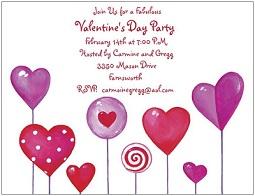 Design 620- Valentine Party Invitations