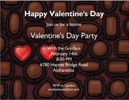 Design 621- Valentine Party Invitations
