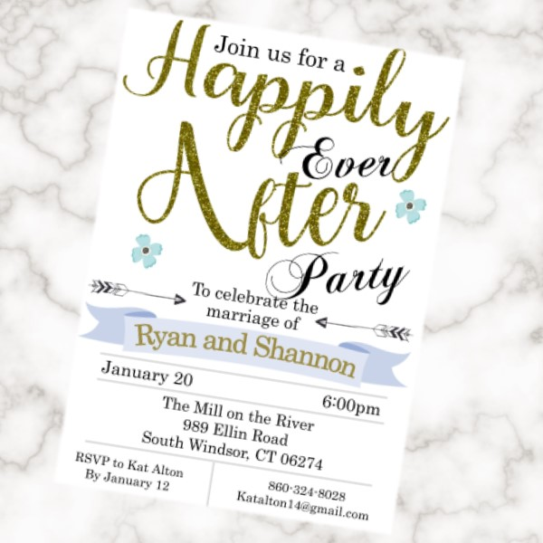 Eloping and Reception Only Invitations