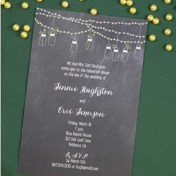 eloping / reception only party invitations