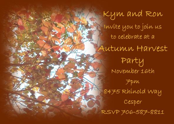 Fall and autumn party invitations 2018 birthday party invitations rv101 fall sky party invitations filmwisefo