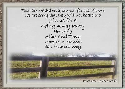Going Away Party invitations NEW selections 2017 – Invitations for Going Away Party