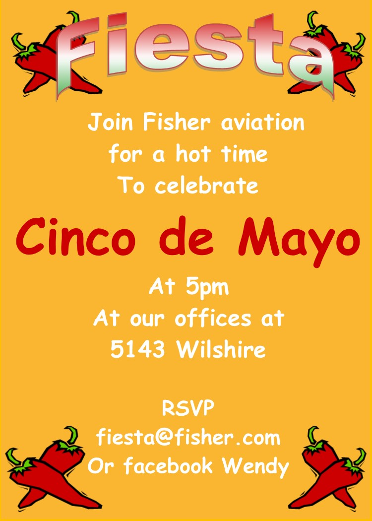 cinco de mayo party invitations new for may 5 2020