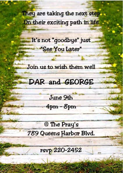 going away party invitations new selections winter 2018