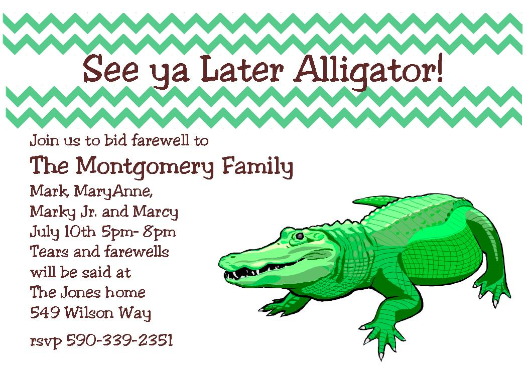 Going Away Party Invitation   Invitations And Announcements