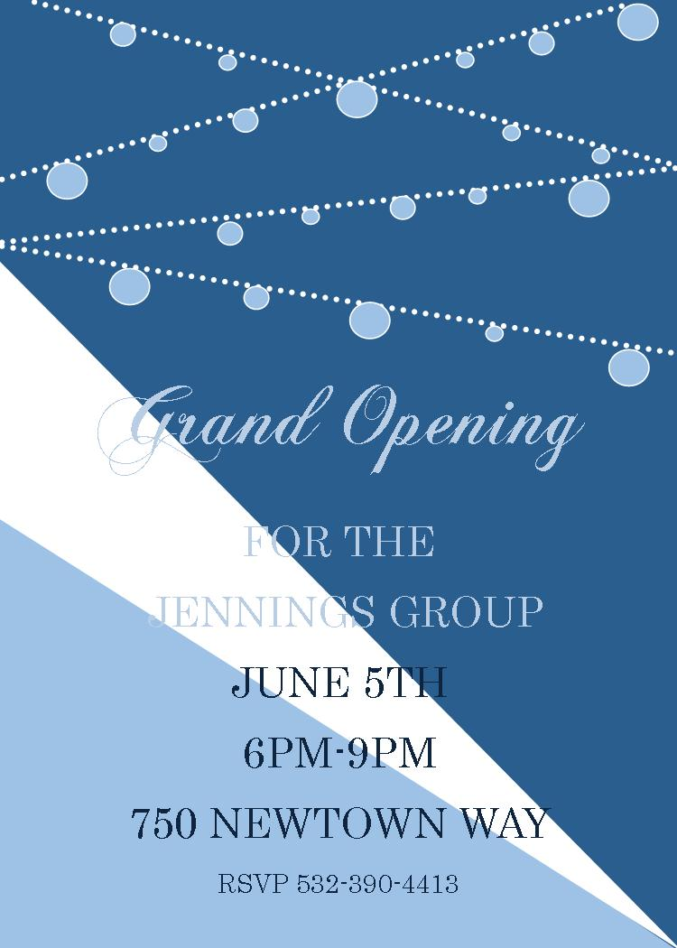 Grand Opening Invitations And Ground Breaking Invitations New