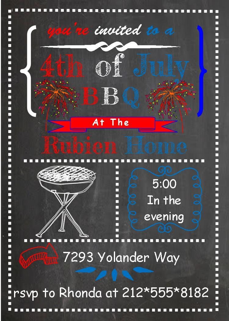 th of party and patriotic invitations for new selections  4th of party invitations