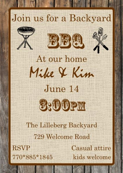 barbecue party invitations bbq invitations new selections winter 2018