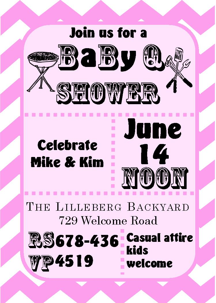 BaByQ Baby Shower Invitations / Summer 2018