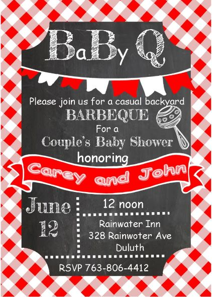 Babyq baby shower invitations fall 2018 baby q shower invitations filmwisefo