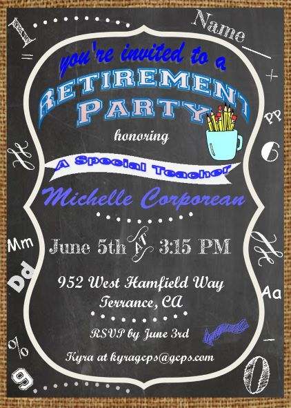 retirement party flyer template shitty things have retirement party flyer template