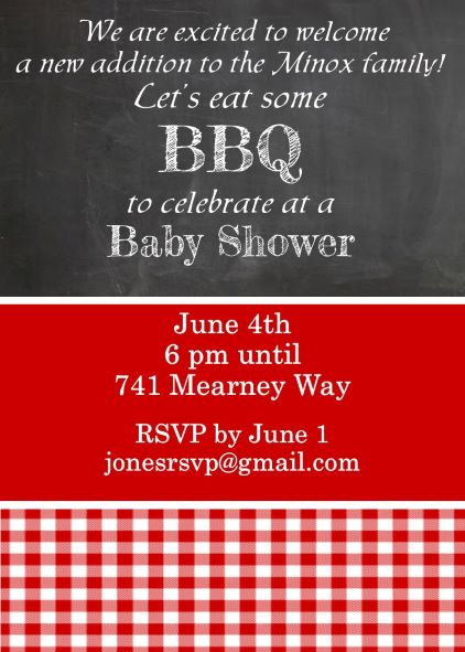 Gender unknown or gender reveal Baby Shower invitations NEW ...