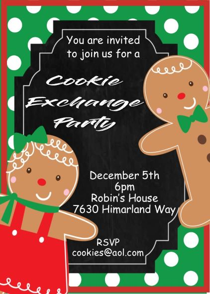 Christmas / Holiday Party Invitations Designs For 2017