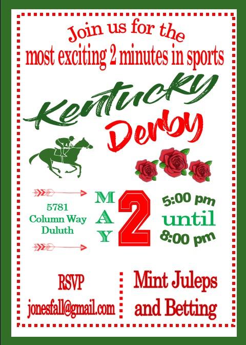 Luxury derby party invitation wording illustration invitations and kentucky derby party invitations may 5 2018 stopboris Choice Image