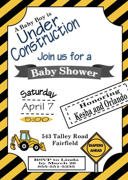 Boy Baby Shower Invitations NEW selections Summer 2018