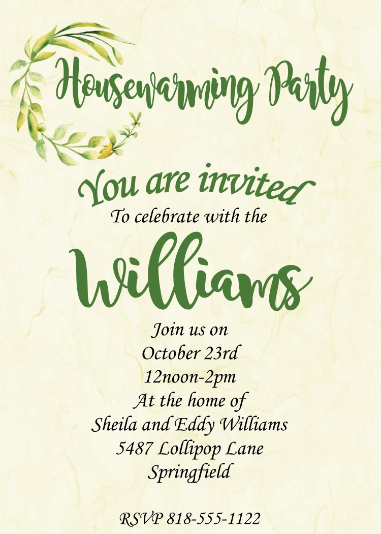 House Warming Invitations House Key 16 Invites With Bonus 4 With Chain