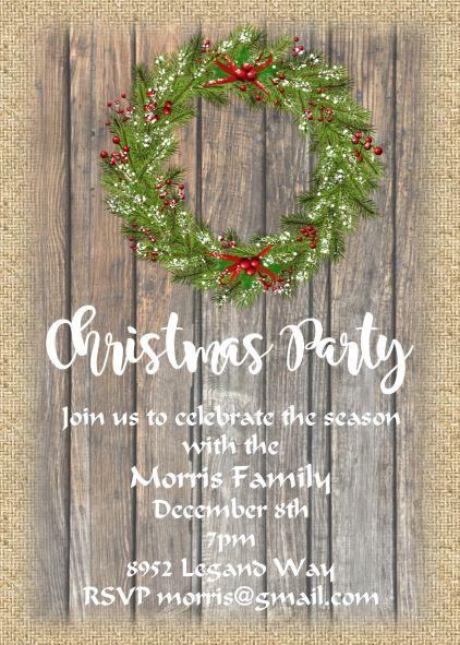 Christmas Open House 2021 Christmas Open House Party Invitations 10 000 Designs